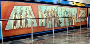 Reproduccion Mural De Bonampak