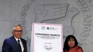 Firma STC convenio de colaboración con la CDHDF