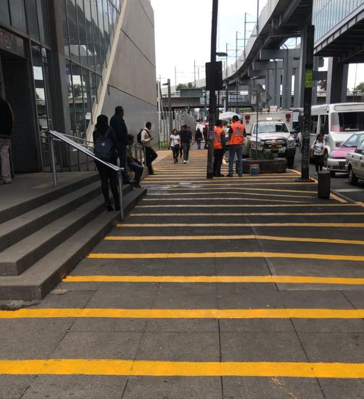 Recupera el STC espacio en inmediaciones del Metro Periférico Oriente de la Línea 12