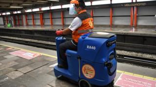 Incorpora el STC máquinas de desinfección en estaciones del Metro CDMX